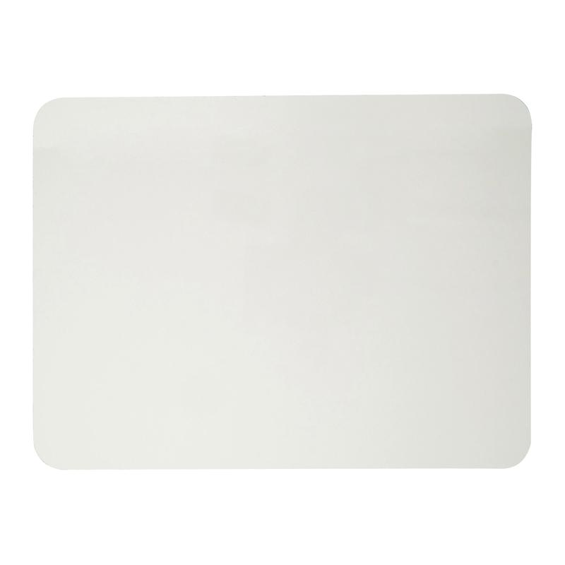 Dry Erase Board, One Sided, Plain White, 9