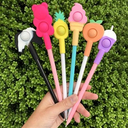 OMG POP Fidgety Pen Toppers - Eaches